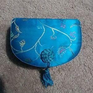 Other - Blue chinese jewlery box